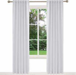 100% Blackout Curtain Thermal Insulated Room Darkening Drape
