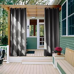NICETOWN 108 Outdoor Curtain for Patio - Energy Saving Therm