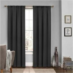 Eclipse 15946052063BLK Tricia 52-Inch by 63-Inch Thermal Win