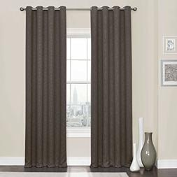 Eclipse 16911052108ESP Thermaweave Blackout Curtains Panels,