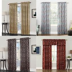1pc thermal insulated blackout curtains for living