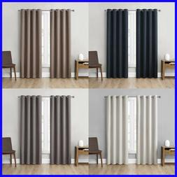 2 Pack, Eclipse Absolute Zero Total Blackout Curtains
