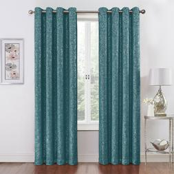 2 Pack: Regal Home Metallic Thermal Blackout Grommet Curtain