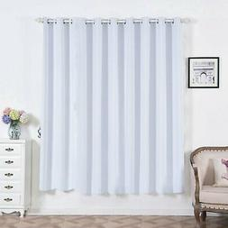 2 Thermal Insulated Blackout Darkening Window Curtains With