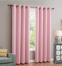 2pannels ChadMade Panels Solid Thermal Insulated Curtains Br