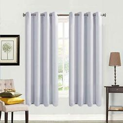 Balichun 2pc Blackout Curtains Thermal Insulated Grommets Da