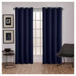 2pk EXCLUSIVE HOME Sateen Twill Weave Blackout Curtain Panel