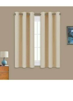 2x NICETOWN Thermal Insulated Room Darkening Curtains/Drapes