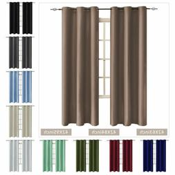 Blackout Window Curtain Backing Light Blocking Thermal Insul