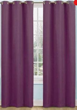 42x63 ,Eclipse Kids Dayton Energy-Efficient Curtain Panel ,C