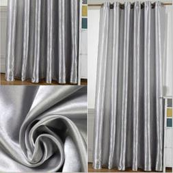 Blackout Curtains Room Darkening Thermal Insulated Grommet D