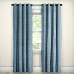 Eclipse Grommet Style Black Out Curtain Panel Rowland Blue 5