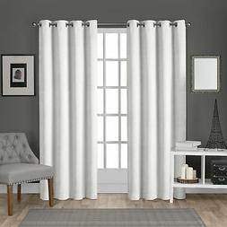 Exclusive Home Curtains Velvet Heavyweight Window Curtain Pa