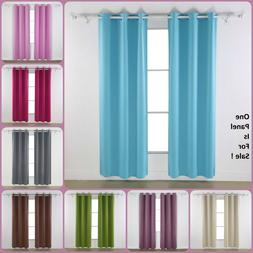 Living Room Curtain Blackout Darkening Drape Best Thermal Be