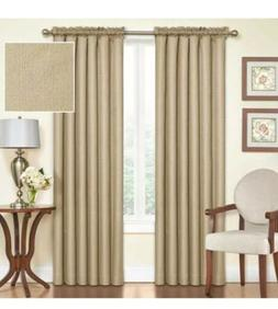 NWT Lot of 5 Eclipse Black Out Panels Curtains Samara Latte