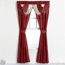 Regal Home Collections Amore 54-Inch by 84-Inch Window Set w