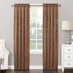 Sun Zero Cassara Black Out Window Curtain Single Panel 52inX