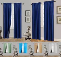 TOM 1 SET BLACK LINER ULTIMATE BLACKOUT WINDOW CURTAIN TREAT