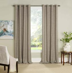 """Eclipse Absolute Zero Panel Pair Curtains 2-Pack 52"""" x 84"""" M"""