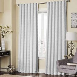 Eclipse Adalyn Thermalayer Blackout Window Curtain Panel Whi