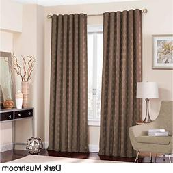 Eclipse Adalyn Thermalayer Blackout Window Curtain Panel Dar