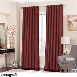 Eclipse Adalyn Thermalayer Blackout Window Curtain Panel Bur