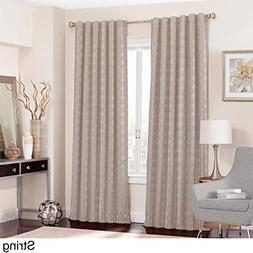 Eclipse Adalyn Thermalayer Blackout Window Curtain Panel Str