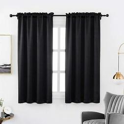 anjee blackout curtain panels 63 inches long