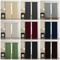 Back Tab Thermal Insulated Blackout Window Curtain Panels -1