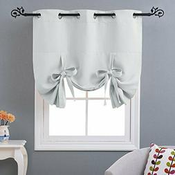 NICETOWN Balloon Bathroom Window Curtains - Blackout Window
