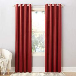 Sun Zero Barrow Energy Efficient Grommet Curtain Panel, 54""