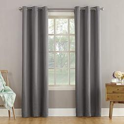 "Sun Zero Becca Energy Efficient Grommet Curtain Panel, 40"" x"