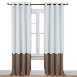 bedroom blackout curtain panels