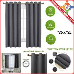 Nicetown Bedroom Blackout Curtains Panels - Window Treatment