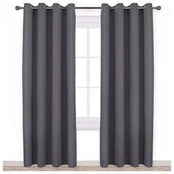 NICETOWN Bedroom Blackout Curtains Panels - Triple Weave Ene
