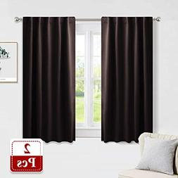 PONY DANCE Blackout Curtains Short - Bedroom Window Draperie