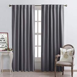 NICETOWN Bedroom Curtains Blackout Curtain Panels -  52x95 I