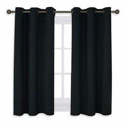 NICETOWN Bedroom Curtains Blackout Drapery Panels, Three Pas