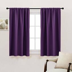 Bedroom Drapes Blackout Curtains Panels - PONY DANCE All Sea
