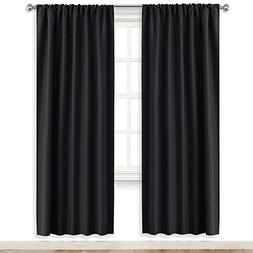 RYB HOME Bedroom Window Treatments Blackout Curtains  Blacko