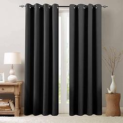 Blackout Curtains for Living Room 84 inches Length Bedroom L