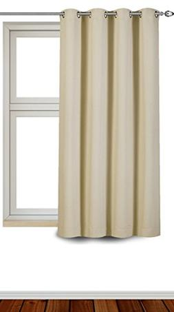 Utopia Bedding Blackout/Room Darkening Curtains Window Panel
