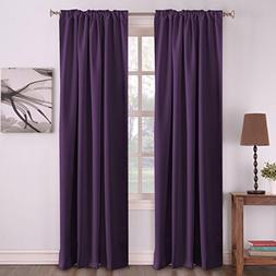 Blackout Bedroom Curtains, Thermal Insulated Curtains for Li
