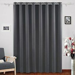 Deconovo Thermal Insulated Blackout Curtains 1 Panel Wide Wi