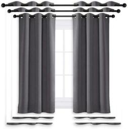 """NICETOWN Blackout Curtain Blind for Bedroom Thermal W42"""" X L"""