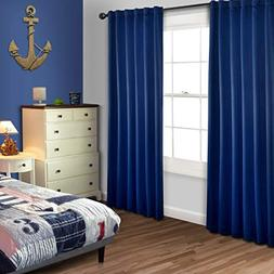 MYSKY HOME Blackout Curtain Drapes 84 Inch Long for Living R