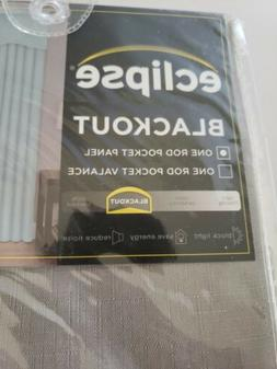 Eclipse Blackout Curtain For Bedroom.  Kendall Insulated Dar