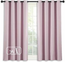 NICETOWN Blackout Curtain for Girls Room - Thermal Insulated