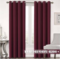 FLAMINGO P Blackout Curtain Panel  Thermal Insulated Soft 52