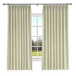 "ChadMade Blackout Curtain Panel 50"" W x 63"" L Polyester Cott"